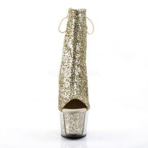 Platform Ankle Boots ADORE-1018G - Golden