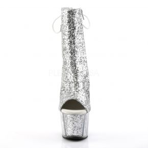 Platform Ankle Boots ADORE-1018G - Silver
