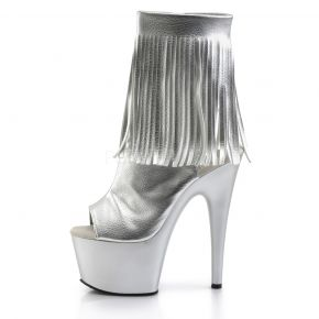 Platform Ankle Boots ADORE-1019 - Silver