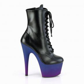 Platform Ankle Boots ADORE-1020BP - PU Blue/Purple