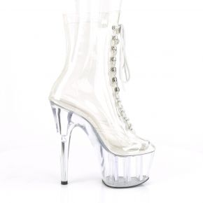 Platform Ankle Boots ADORE-1020 - Clear/Clear