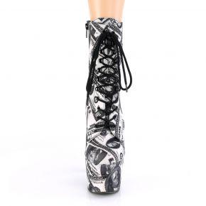 Platform Ankle Boots ADORE-1020DP - Dollar Print