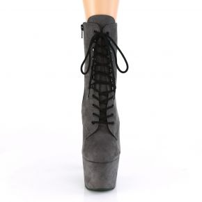 Lace Up Platform Ankle Boots ADORE-1020FS - Grey