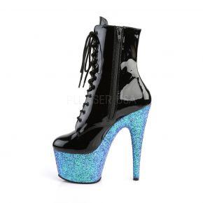 Platform Ankle Boots ADORE-1020LG - Black/Blue