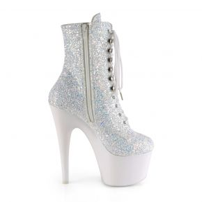 Platform Ankle Boots ADORE-1020LG - Neon White