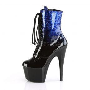 Platform Ankle Boots ADORE-1020OMB - Blue/Black