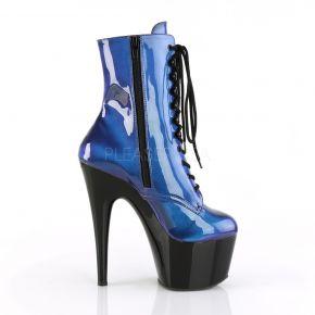 Platform Ankle Boots ADORE-1020SHG - Blue/Purple
