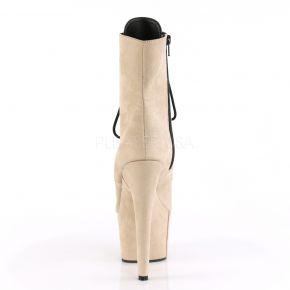 Open Toe Platform Ankle Boot ADORE-1021FS - Beige