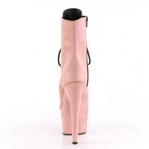 Open Toe Platform Ankle Boot ADORE-1021FS - Baby Pink