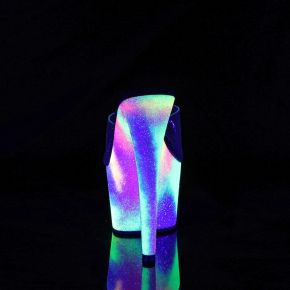 Plateau Pantolette ADORE-701GXY - Neon Mehrfarbig