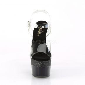 Platform High Heels ADORE-708-2HGM - Black