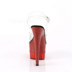 Plateau High Heels ADORE-708-2HGM - Rot