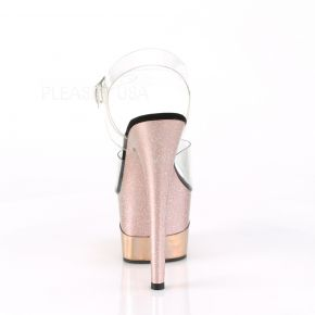 Platform High Heels ADORE-708-2HGM - Rose Gold