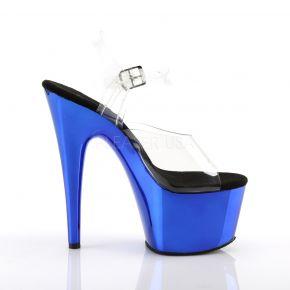 Platform High Heels ADORE-708 - Blue