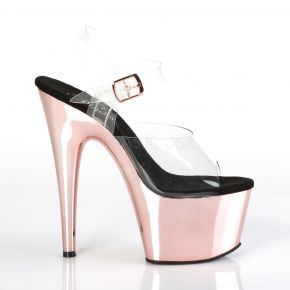 Platform High Heels ADORE-708 - Rose Gold