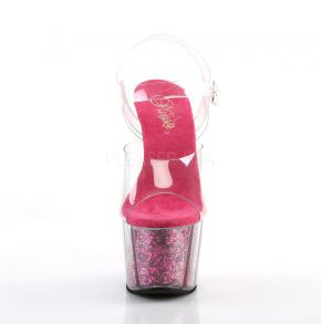 Platform High-Heeled Sandal ADORE-708G - Hot Pink