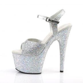Platform High Heels ADORE-710LG - Silver