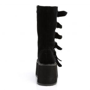 Platform Boots DAMNED-225 - Velvet Black