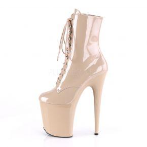 Extreme Platform Heels  FLAMINGO-1020 - Patent Nude