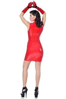 Tanktop Vinyl Mini Dress ROXY - Red