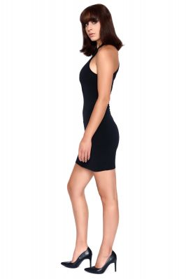 Stretch Mini Dress SACHI - Black