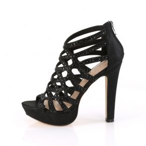 High-Heeled Sandal SELENE-24 - Black