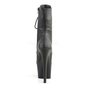 Platform Ankle Boots SKY-1020 - PU Black