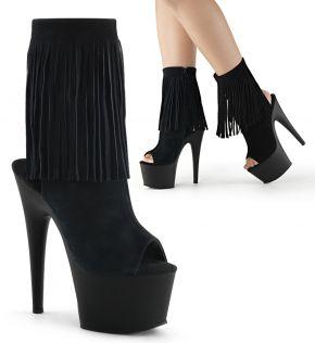 Platform Ankle Boots ADORE-1019 - Black