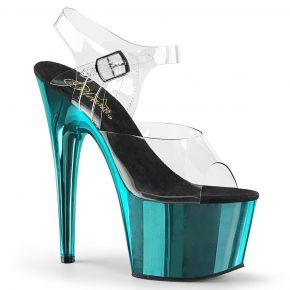 Platform High Heels ADORE-708 - Turquoise