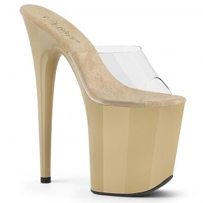Extreme Platform Heels FLAMINGO-801 - Cream