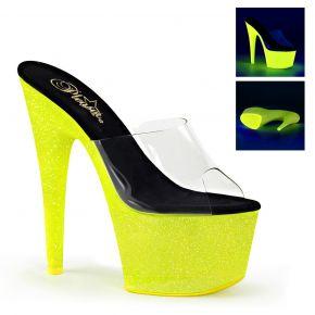 Platform Heels ADORE-701UVG - Neon Yellow