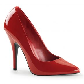 Pumps SEDUCE-420 - Patent red